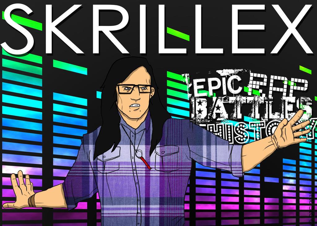 epic rap battles of history skrillex variant by twinsvega on