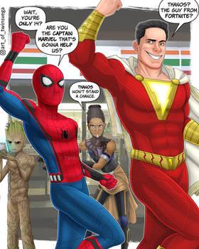 Fortnite Superheroes