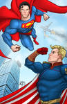 Superman vs Homelander