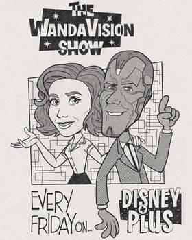 WandaVision Retro TV Ad