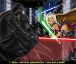 Darth Vader Vs Master Tano
