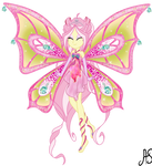 [MLPEG Winx] Flora x Fluttershy by Sparkling-Sunset-S08