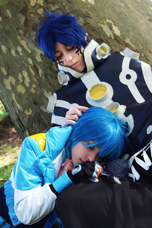 Aoba and Ren - DRAMAtical Murder by cosplay33