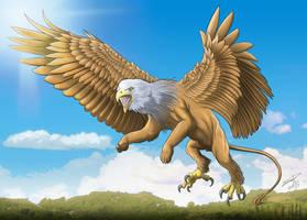 Mythologia Griffin by peterszebeni