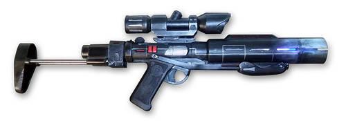 Nerf Star Wars - Death Trooper Blaster by peterszebeni