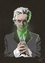 12th Doctor vector graphic