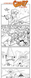GIANT! Mini Graphic Novel Preview by SalamanderArt