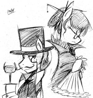 Old Time Pony presents: Top hats and Monocles
