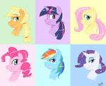 My Little Ponytails