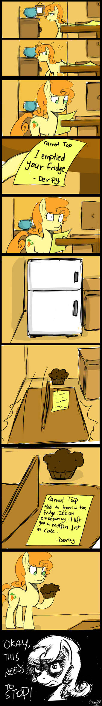 Emptied your fridge