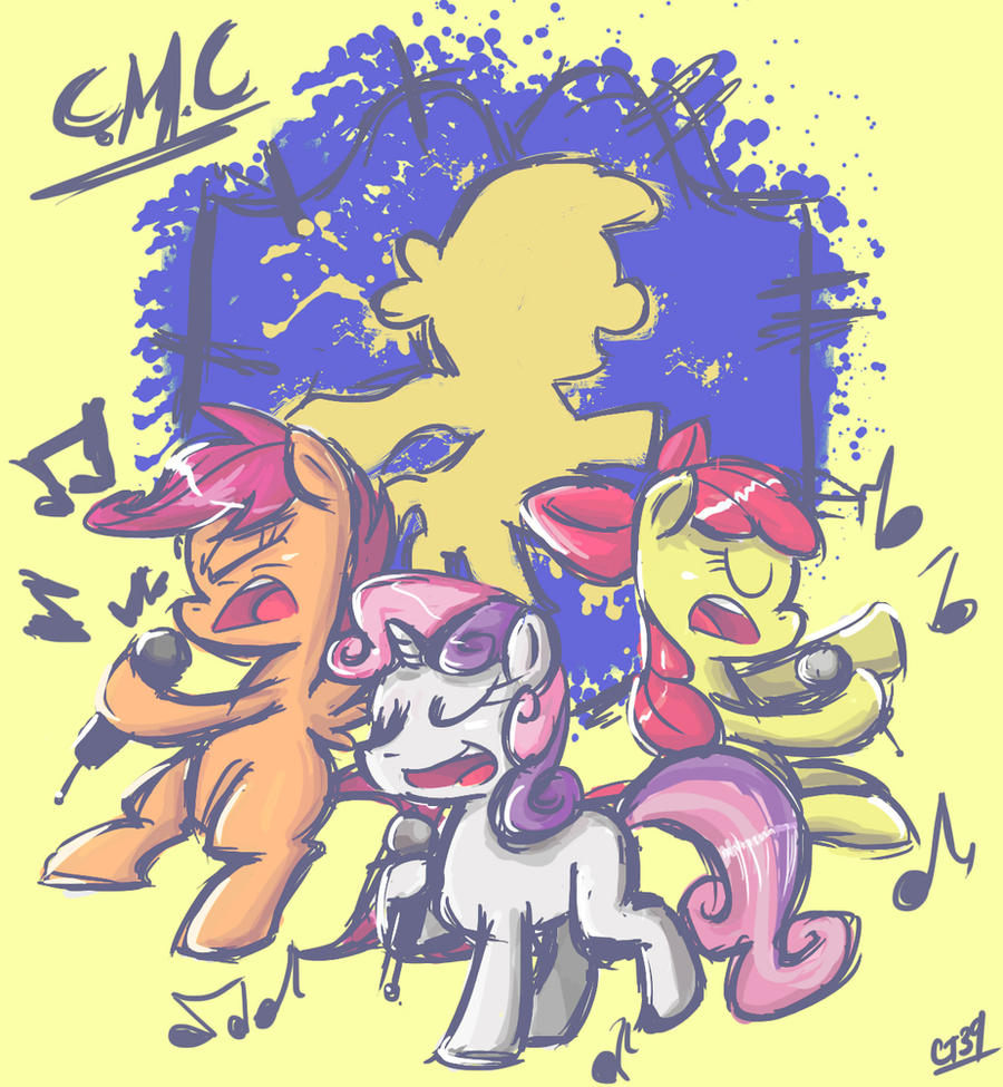 Cutie Mark Crusaders by Coin-Trip39