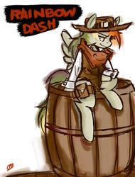 Cowboy Rainbow Dash