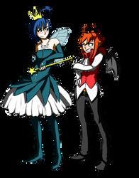 Ani and Kyu dress up