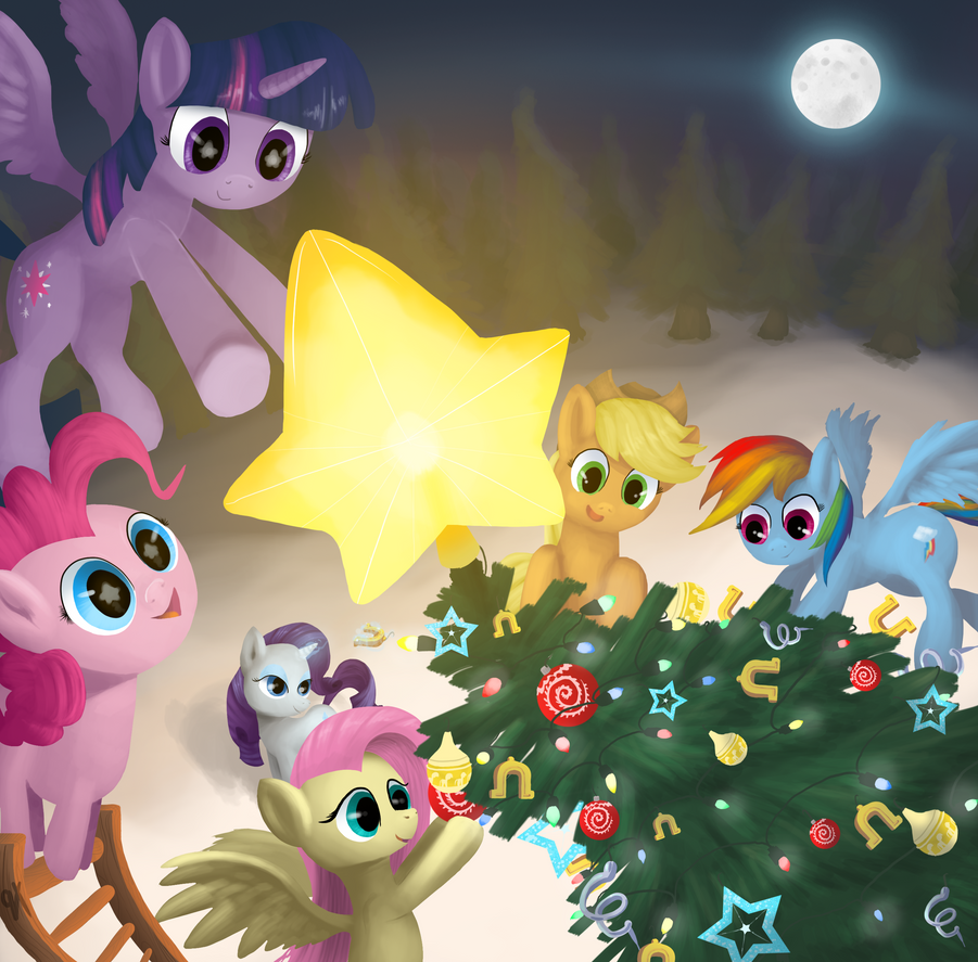 A Pony Christmas by quadren4