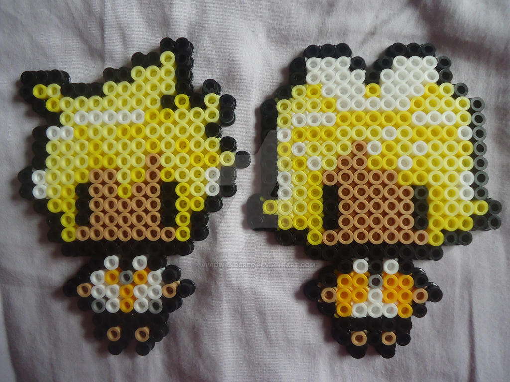 Rin and Len From Vocaloid by PerlerHime