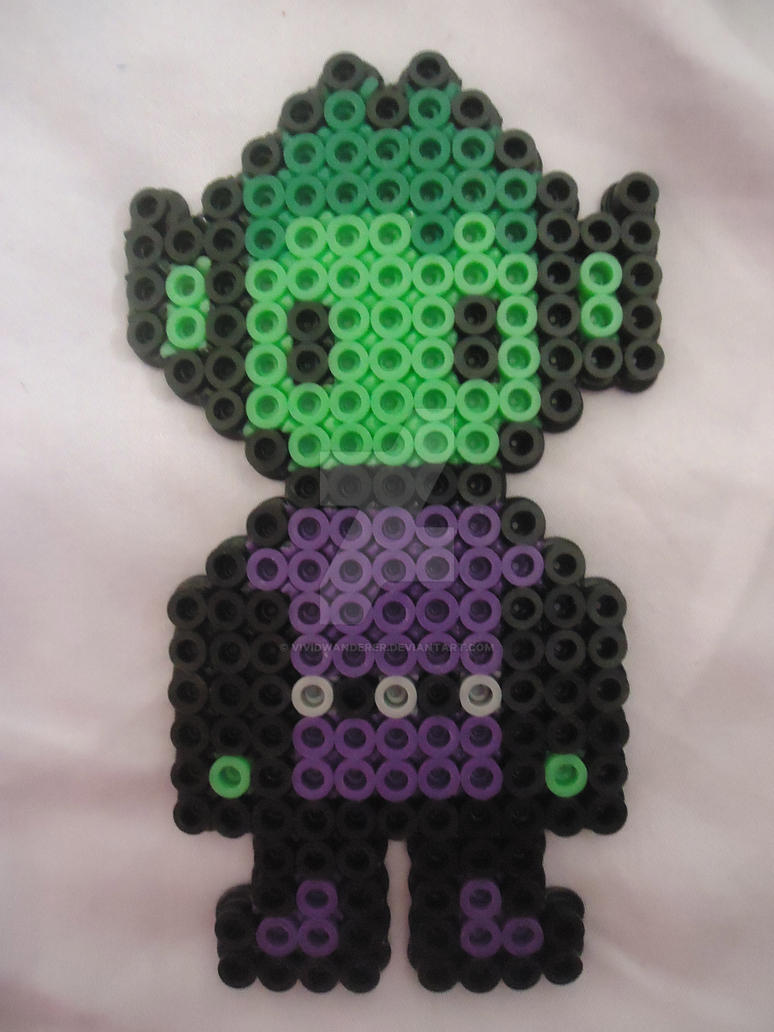 Beast Boy from Teen Titans 2 by PerlerHime
