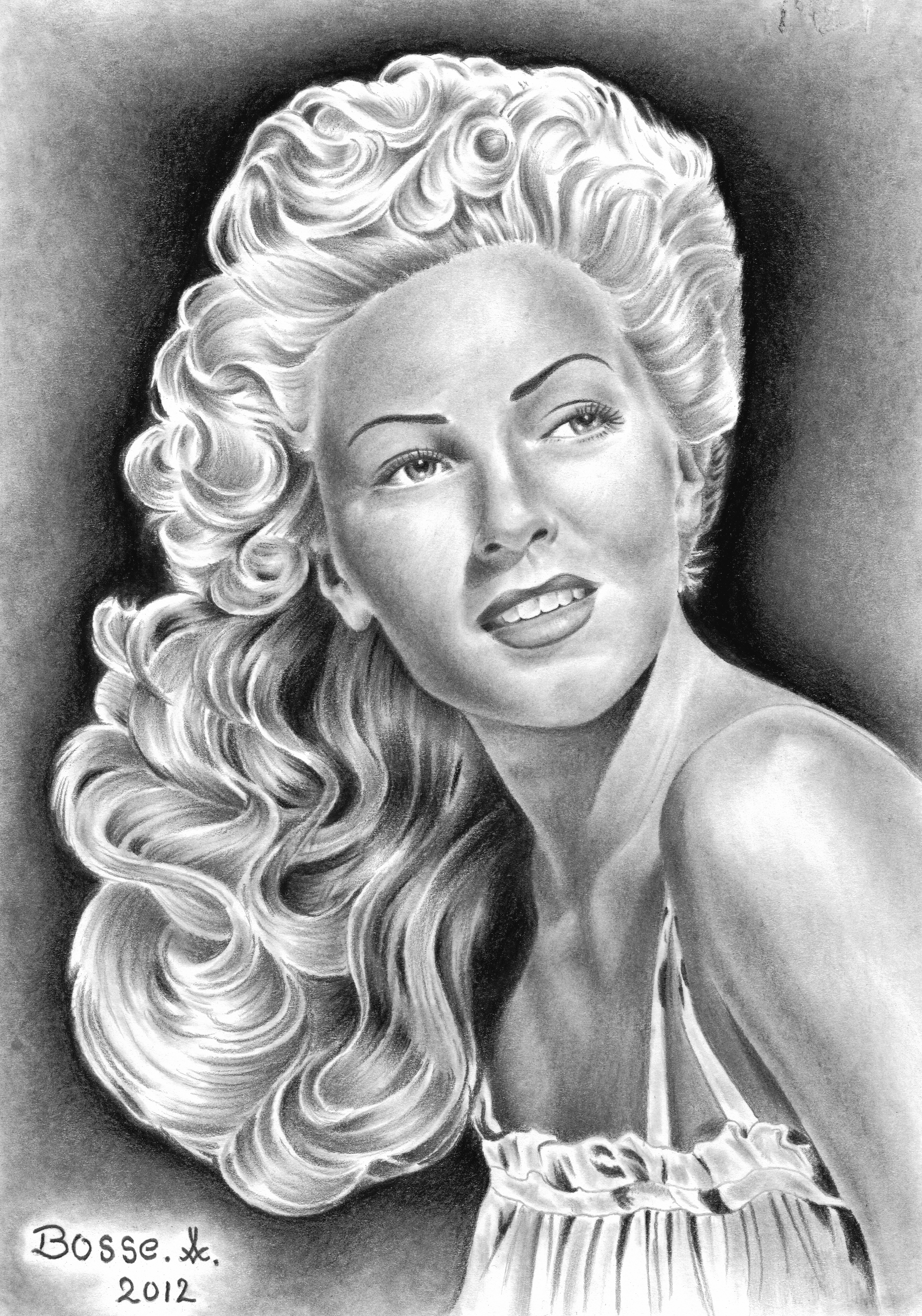 Lana Turner by Torsk1