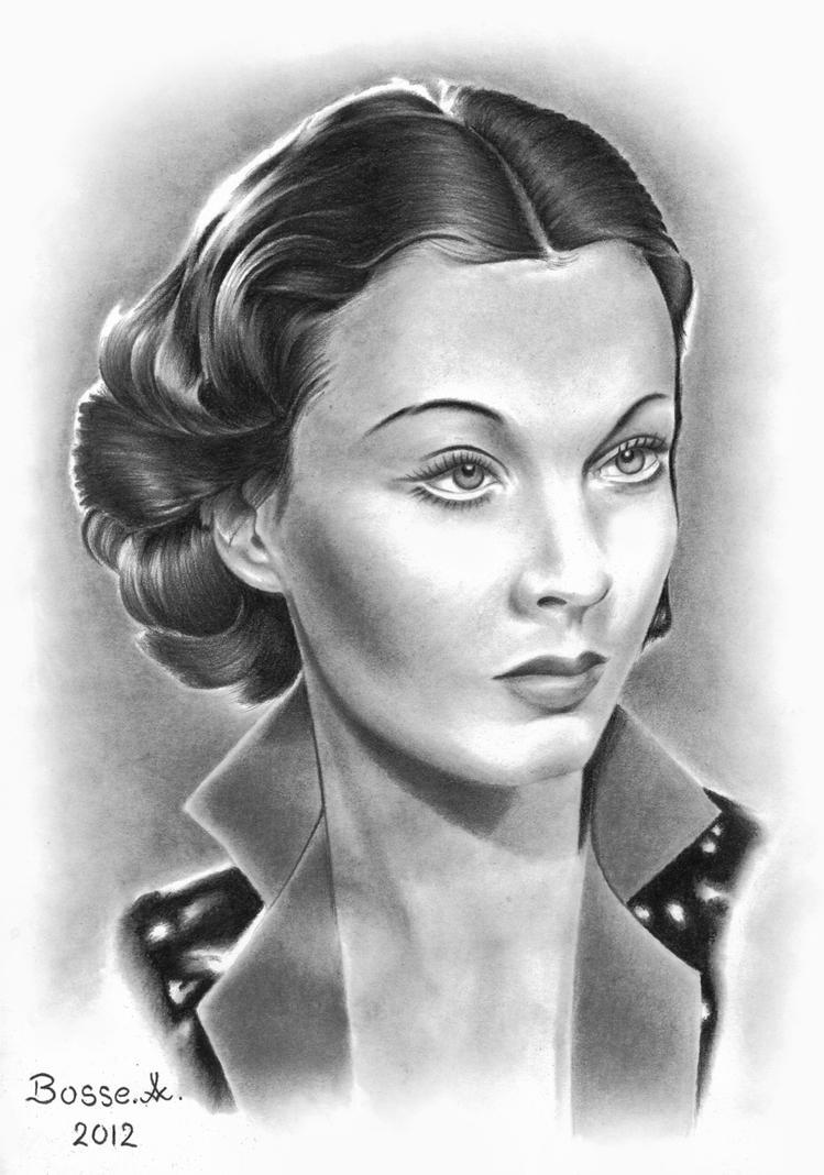 Vivien Leigh by Torsk1