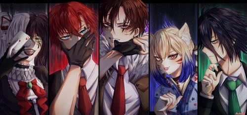 Devilish Children [+SPEEDPAINT]