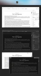 Ecrire - Minimalistic Writer Concept