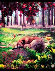 Good Night Foxy