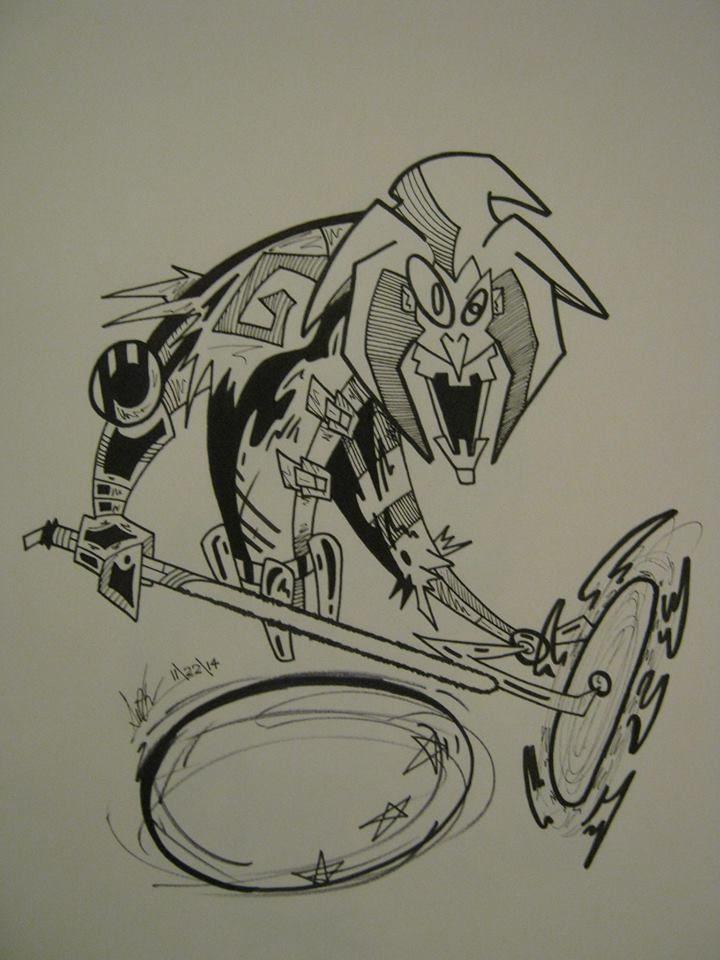 Cyber-Joker by EtriganSwamp