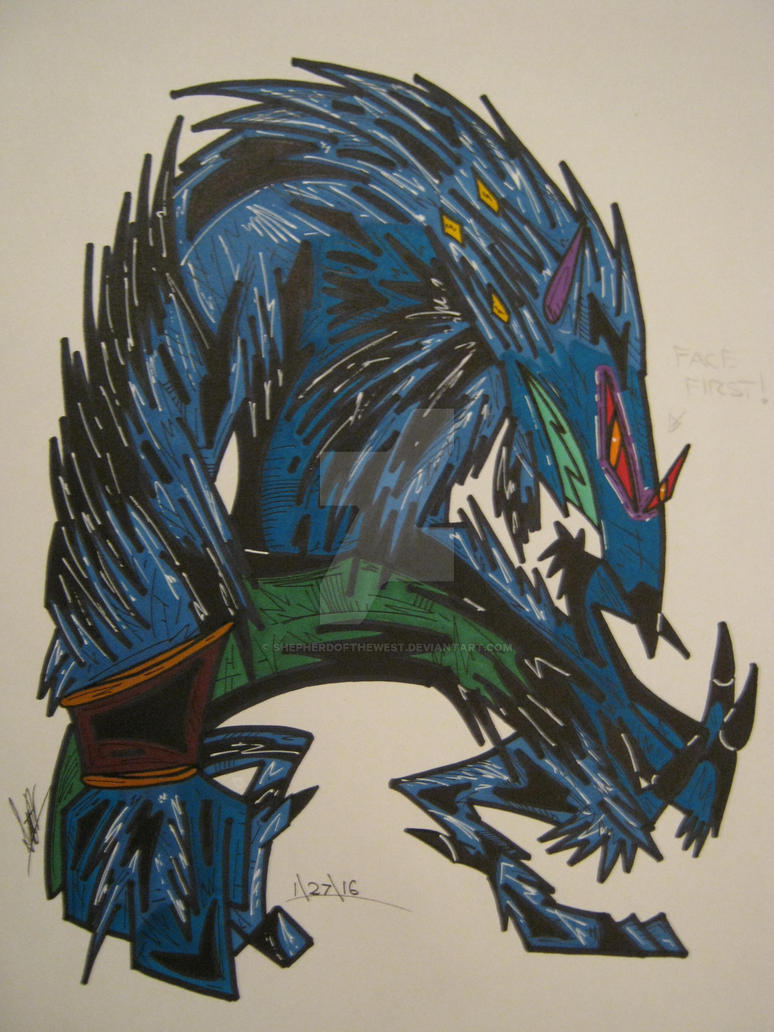 Sabrewulf by EtriganSwamp