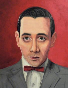 STOLEN Pee-Wee Herman portrait