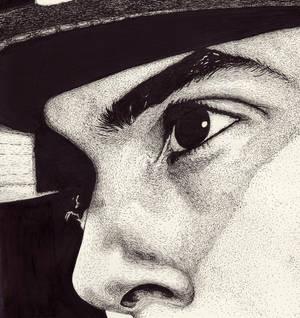 Cody B Ware portrait DETAIL