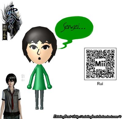 Fatal Frame/Project Zero 5 Rui Kagamiya Mii by ExistingBox9 on ...