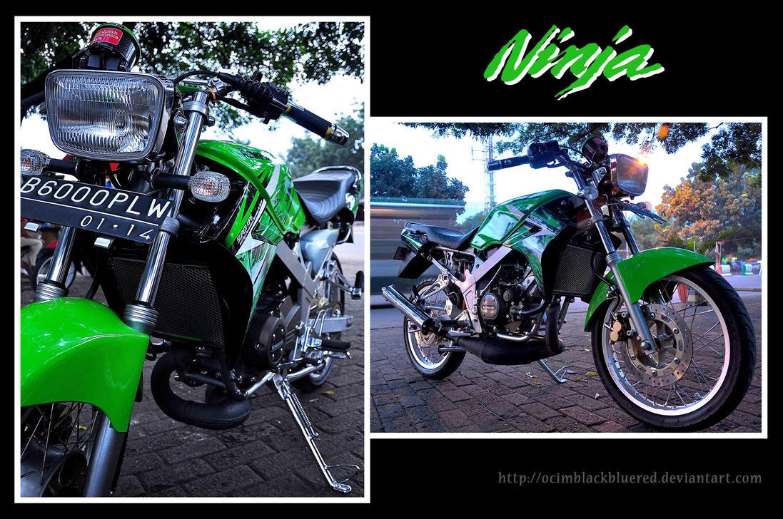 Kawasaki Ninja R 150 by ocimblackbluered on DeviantArt