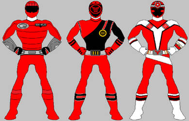 More Red Rangers from Santo Kuma
