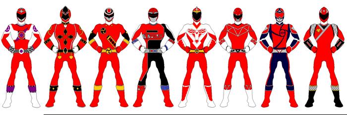 Dynamic Savior's BEST Red Ranger Concepts