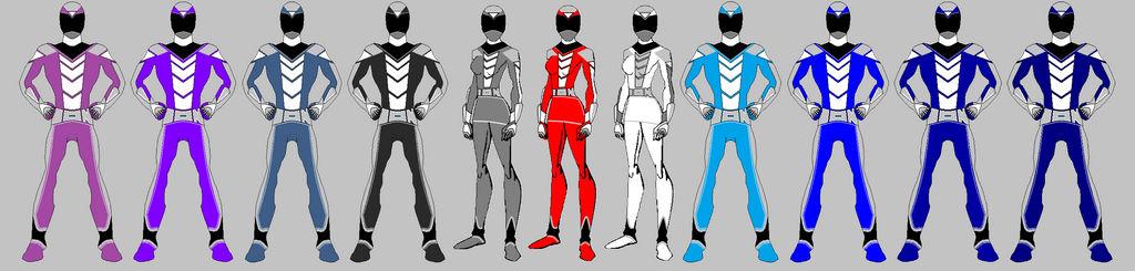 Power Rangers IONIC WAVE