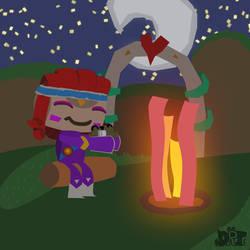 Campfire by DragonRatTiger