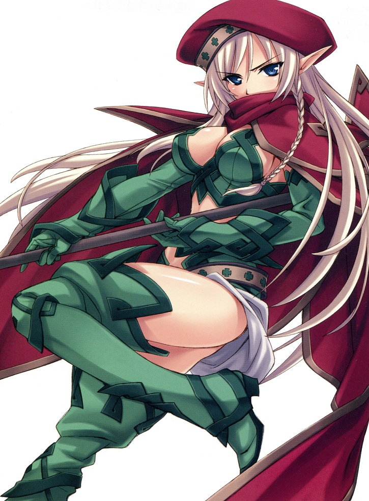 Characters: Elves __alleyne_queen_s_blade_drawn_by_matsuryuu__cb00ad_by_rachelrenston-dbgtrx5