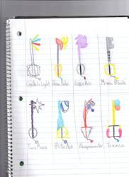 Keyblades 10