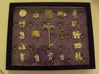 Haunted Mansion Pin Collection by Jack-Pumpkinhead