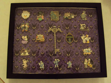 Haunted Mansion Pin Collection