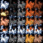 Free kitten icons