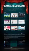 Personal website by hans-arab