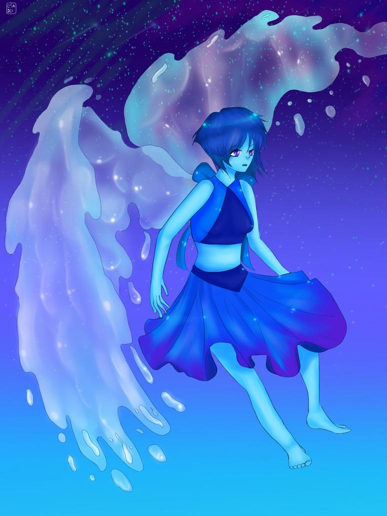 steven universe fanart lapis lazuli by artsycuno on