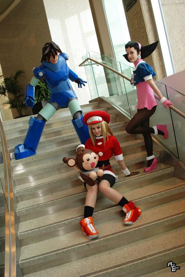 Megaman Legends- Staircase by Hopie-chan