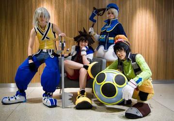 KH Crew by Hopie-chan