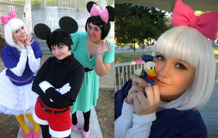 Happy Halloween: Daisy Duck by Hopie-chan