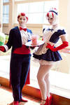 Peppermint Butler and Maid