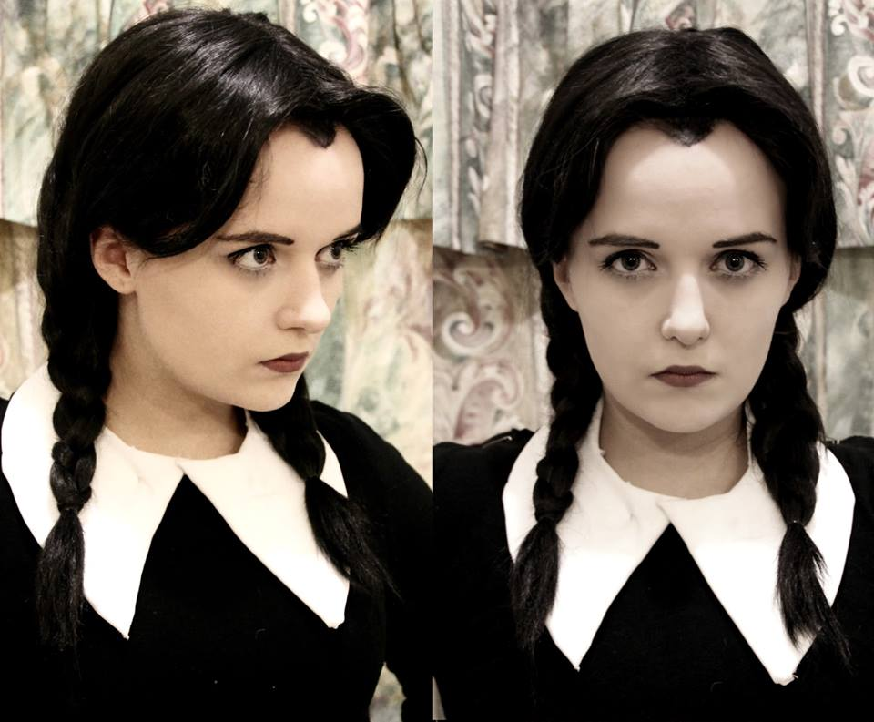 Wednesday Addams: Makeup Test by Hopie-chan
