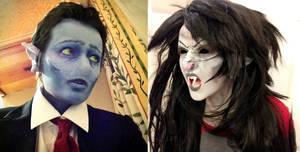 Hunson and Marceline Abadeer: Makeup Test