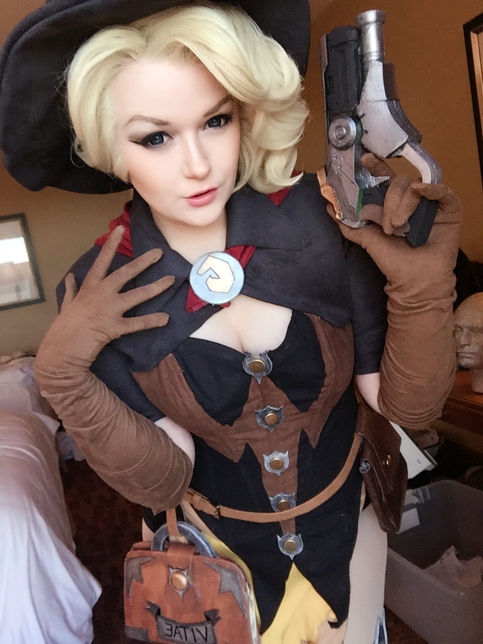 Witch Mercy by Hopie-chan