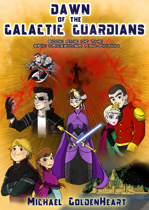 Dawn of the Galactic Guardians Cover by Miguelhan